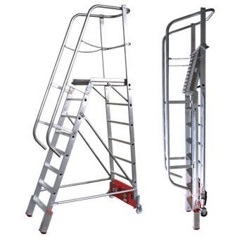 Лестница с платформой VARIO