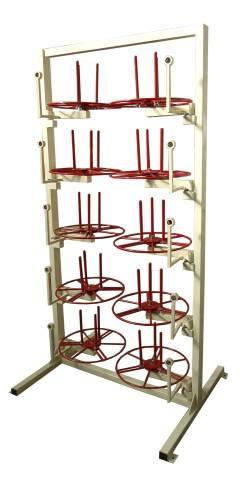стеллаж стойка для кабельных бухт