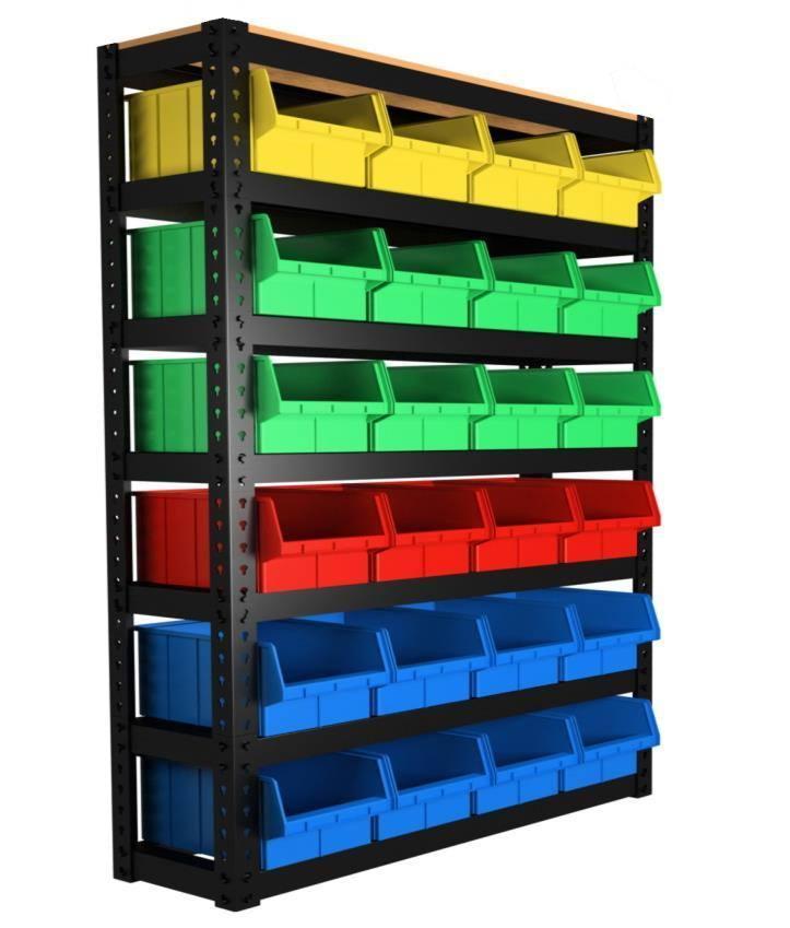 система хранения складских лотков
