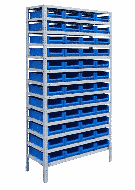 ситема хранения складских ящиков