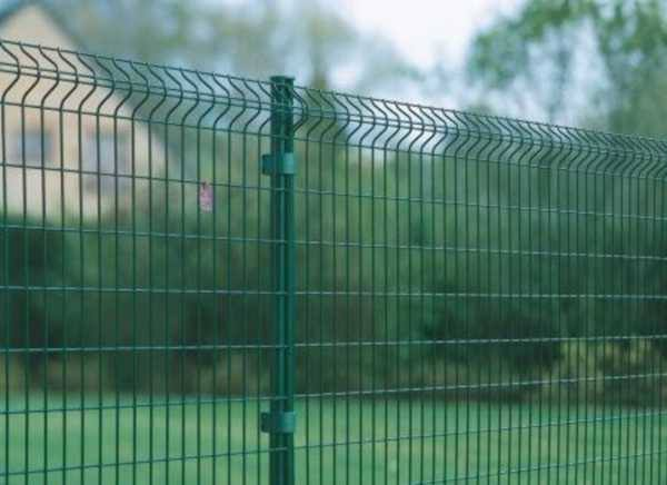 проволочный забор
