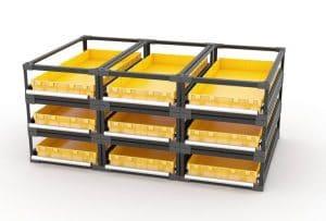 выдвижные модульные ящики