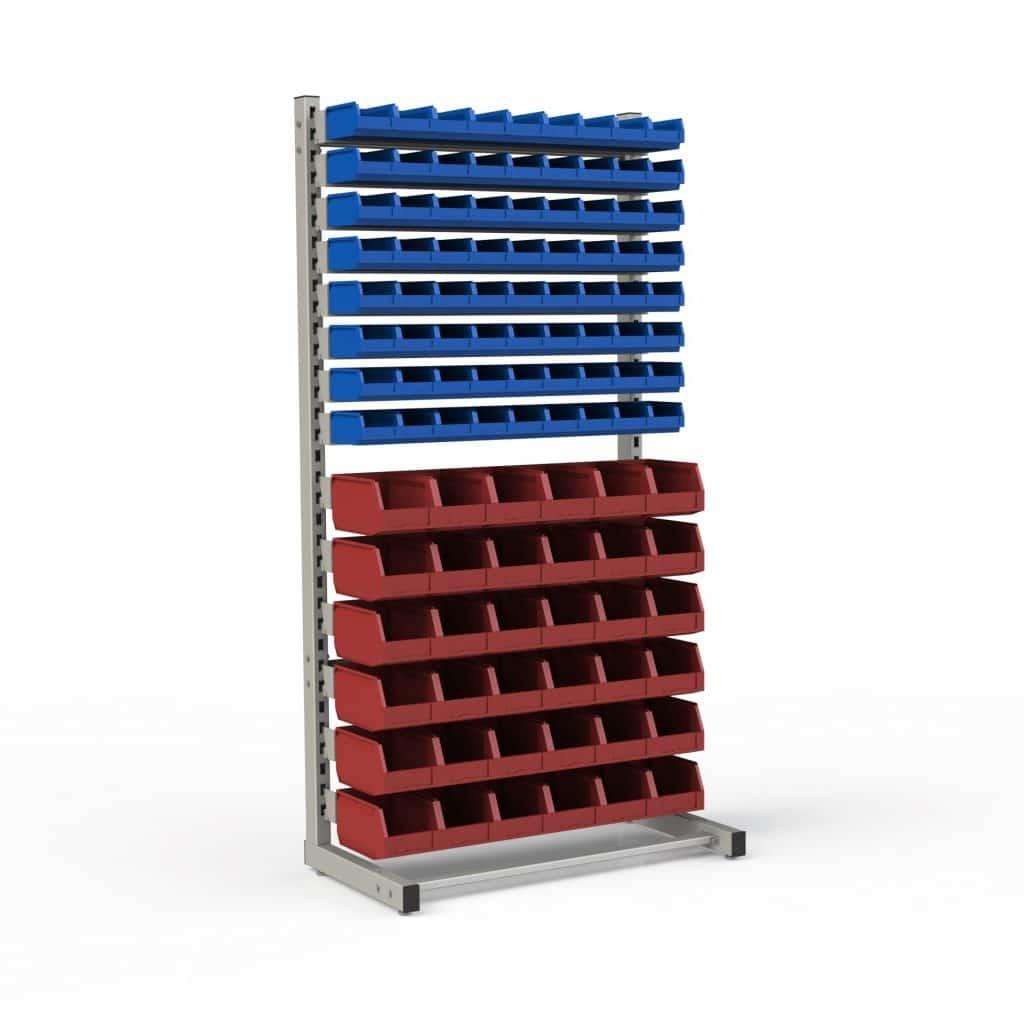 стеллаж с ящиками для мелочей
