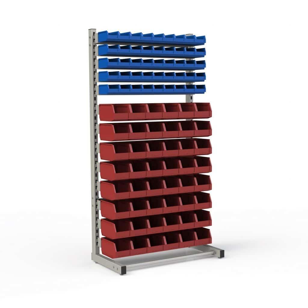 стеллаж с ящиками для метиз