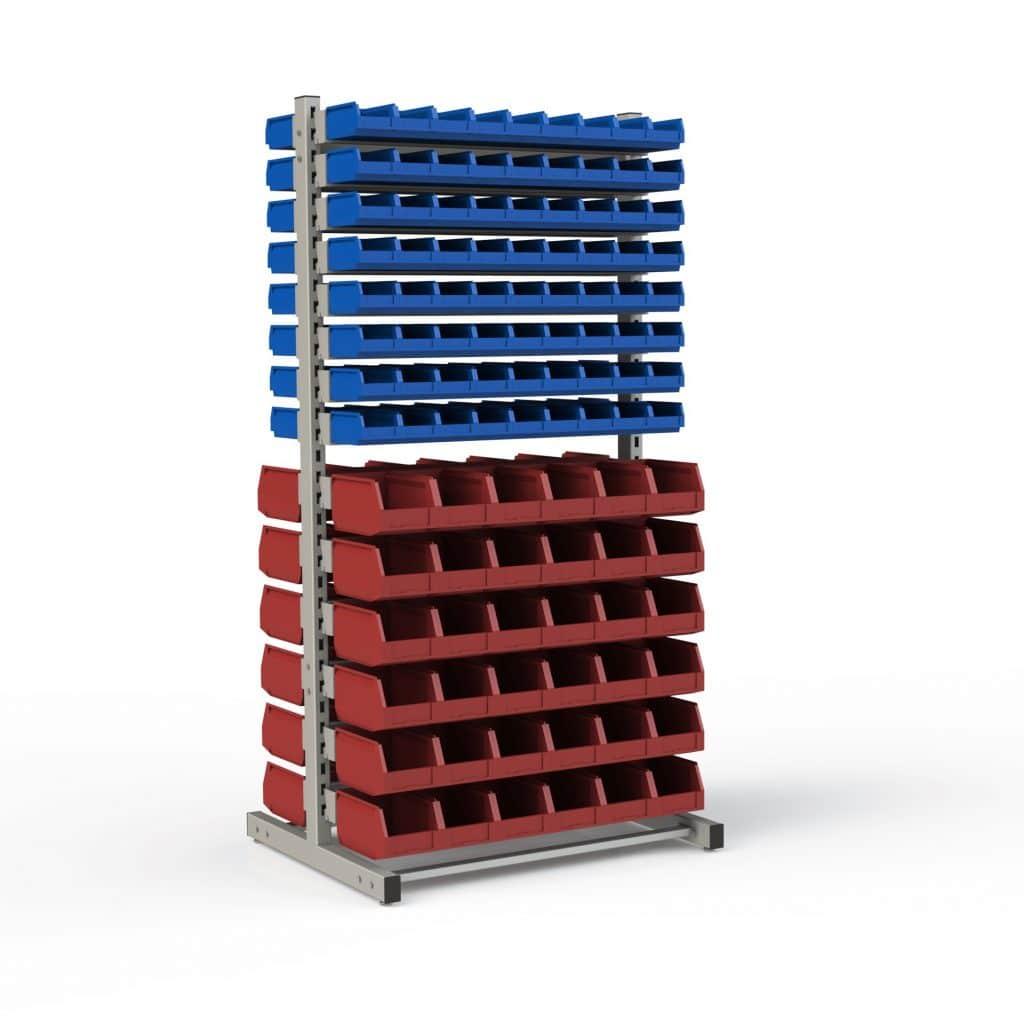 Дополнительная секция двухсторонняя для установки различного количества лотков (2400х950х708 мм)